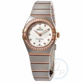 Omega 131.25.25.60.52.001 Constellation Manhattan Ladies Quartz Watch