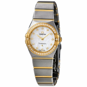 Omega 131.25.25.60.55.002 Constellation Manhattan Ladies Quartz Watch