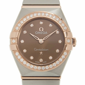 Omega 131.25.25.60.63.001 Constellation Manhattan Ladies Quartz Watch