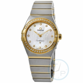 Omega 131.25.28.60.55.002 Constellation Manhattan Ladies Quartz Watch