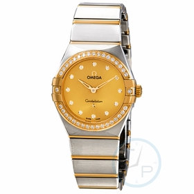 Omega 131.25.28.60.58.001 Constellation Manhattan Ladies Quartz Watch