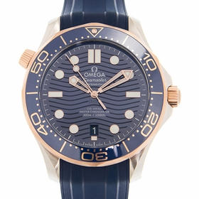 Omega 210.22.42.20.03.002 Seamaster Diver Mens Automatic Watch