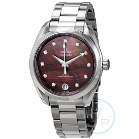 Omega 220.10.34.20.57.001 Seamaster Aqua Terra Ladies Automatic Watch