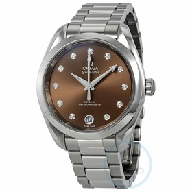 Omega 220.10.34.20.63.001 Aqua Terra Ladies Automatic Watch