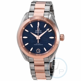 Omega 220.20.34.20.03.001 Seamaster Aqua Terra Ladies Automatic Watch