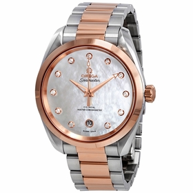 Omega 220.20.38.20.55.001 Seamaster Aqua Terra Ladies Automatic Watch