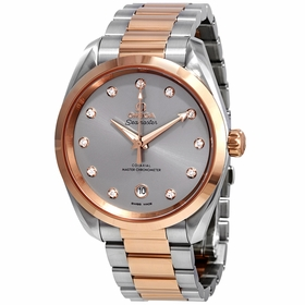 Omega 220.20.38.20.56.002 Seamaster Aqua Terra Ladies Automatic Watch