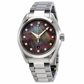 Omega 231.10.34.20.57.001 Seamaster Aqua Terra Ladies Automatic Watch