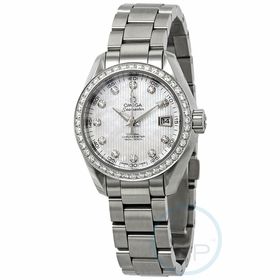 Omega 231.15.30.20.55.001 Seamaster Aqua Terra Ladies Automatic Watch