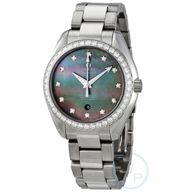 Omega 231.15.34.20.57.001 Seamaster Aqua Terra Ladies Automatic Watch