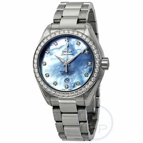 Omega 231.15.34.20.57.002 Seamaster Aqua Terra Ladies Automatic Watch