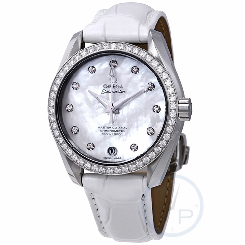 Omega 231.18.39.21.55.001 Seamaster Aqua Terra Ladies Automatic Watch