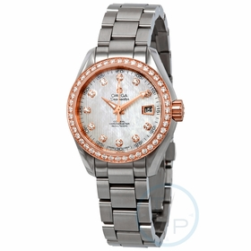 Omega 231.25.30.20.55.003 Seamaster Aqua Terra Ladies Automatic Watch