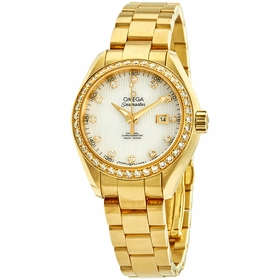 Omega 231.55.34.20.55.001 Seamaster Aqua Terra Ladies Automatic Watch
