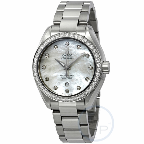 Omega 23115342055002 Seamaster Aqua Terra Ladies Automatic Watch