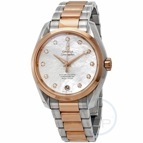 Omega 23120392155003 Seamaster Aqua Terra Ladies Automatic Watch