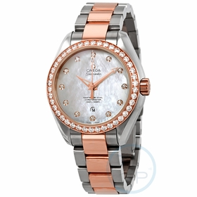 Omega 23125342055005 Seamaster Aqua Terra Ladies Automatic Watch