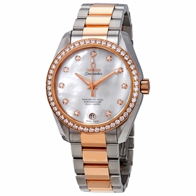 Omega 23125392155001 Seamaster Aqua Terra Ladies Automatic Watch