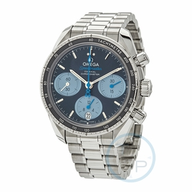 Omega 324.30.38.50.03.002 Speedmaster 38 Orbis Mens Chronograph Automatic Watch