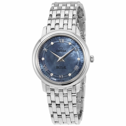 Omega 424.10.27.60.57.001 De Ville Prestige Ladies Quartz Watch