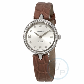Omega 424.18.27.60.52.001 De Ville Prestige Ladies Quartz Watch