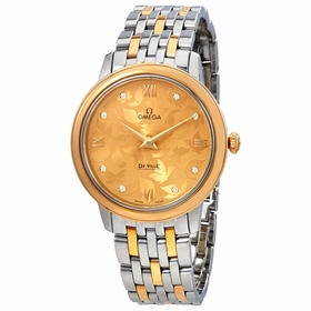Omega 424.20.33.60.58.001 De Ville Prestige Butterfly Ladies Quartz Watch
