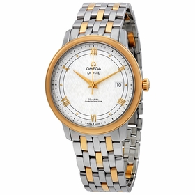 Omega 424.20.40.20.02.001 De Ville Prestige Mens Automatic Watch
