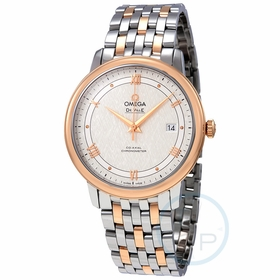 Omega 424.20.40.20.02.002 De Ville Prestige Mens Automatic Watch