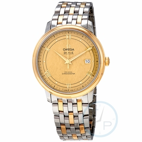 Omega 424.20.40.20.08.001 De Ville Mens Automatic Watch