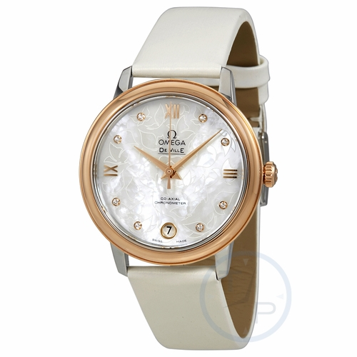 Omega 424.22.33.20.55.001 De Ville Prestige Ladies Automatic Watch
