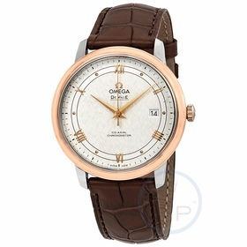 Omega 424.23.40.20.02.002 De Ville Prestige Mens Automatic Watch