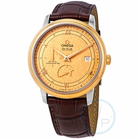 Omega 424.23.40.21.08.001 De Ville Mens Automatic Watch