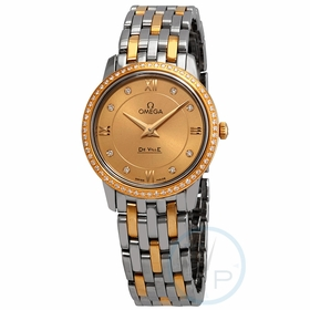 Omega 424.25.27.60.58.001 De Ville Prestige Ladies Quartz Watch