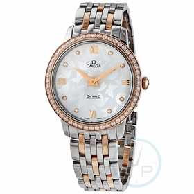 Omega 424.25.33.60.52.001 De Ville Prestige Ladies Quartz Watch