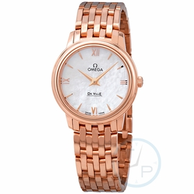 Omega 424.50.27.60.05.002 De Ville Prestige Ladies Quartz Watch