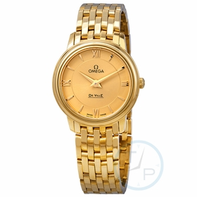 Omega 424.50.27.60.08.001 De Ville Prestige Ladies Quartz Watch