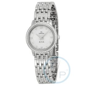 Omega 42415246052001 De Ville Prestige Ladies Quartz Watch