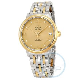 Omega 424.20.33.20.58.001 De Ville Prestige Co-Axial Ladies Automatic Watch