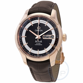 Omega 431.63.41.22.13.001 De Ville Hour Vision Mens Automatic Watch