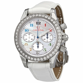 Omega 4876.70.36 Olympic Collection Timeless Ladies Chronograph Automatic Watch