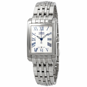 Oris 01 561 7656 4071 07 8 17 82 Rectangular Date Ladies Automatic Watch