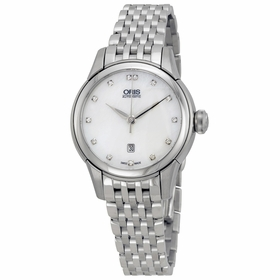 Oris 01 561 7687 4091-07 8 14 77 Artelier Date Ladies Automatic Watch