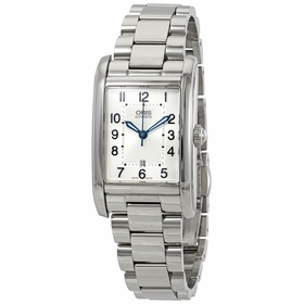 Oris 01 561 7692 4031-07 8 18 20 Rectangular Date Ladies Automatic Watch