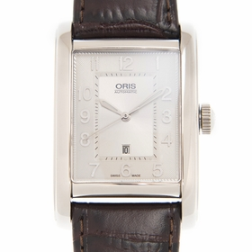 Oris 01 561 7692 4061-07 5 18 20FC Rectangular Ladies Automatic Watch