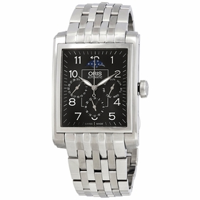 Oris 01 582 7658 4034-07 8 23 82 Rectangular Complication Mens Automatic Watch