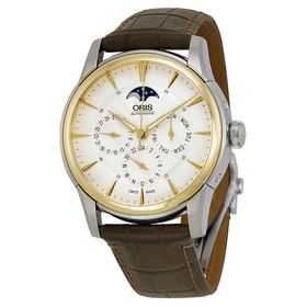 Oris 01 582 7689 4351-07 5 21 70FC Artelier Complication Mens Automatic Watch