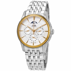 Oris 01 582 7689 6351-07 8 21 77 Artelier Complication Mens Automatic Watch