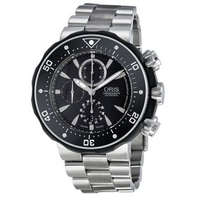 Oris 01 674 7630 7154-Set Diving Pro Diver Mens Chronograph Automatic Watch
