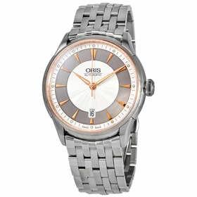 Oris 01 733 7591 6351-07 8 21 73 Artelier Date Mens Automatic Watch