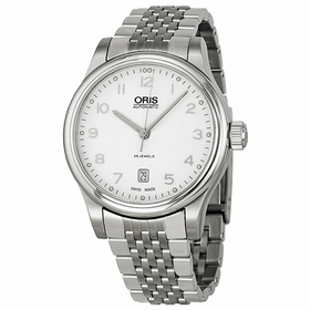 Oris 01 733 7594 4091 07 8 20 61 Classic Date Mens Automatic Watch